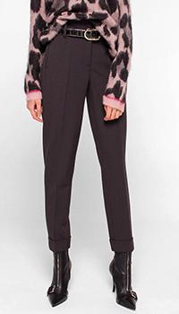 Классические брюки Luisa Cerano серого цвета, фото