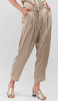 Укороченные брюки Luisa Cerano со складками, фото