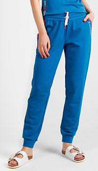 Спортивные брюки Emporio Armani синего цвета, фото