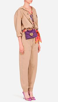 Комбинезон сафари Dolce&Gabbana бежевого цвета, фото