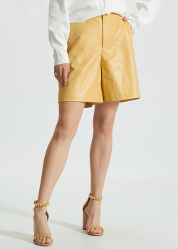 Кожаные шорты Miss Sixty с боковыми карманами, фото