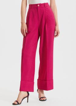 Розовые брюки Miss Sixty с защипами, фото