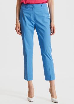 Укороченные брюки Max Mara Weekend голубого цвета, фото