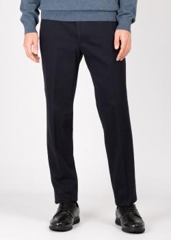 Синие классические брюки Hiltl со стрелками, фото