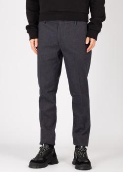 Синие брюки Emporio Armani со стрелками, фото