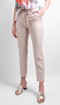 Укороченные брюки Laurel бежевого цвета, фото