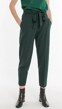 Брюки-чинос зеленого цвета Laurel с поясом, фото