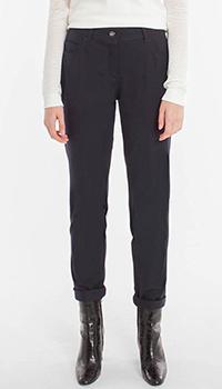 Зауженные брюки Laurel темно-синего цвета, фото
