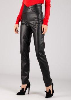 Прямые брюки Patrizia Pepe из искусственной кожи, фото