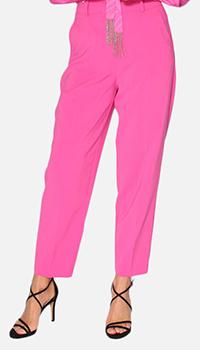 Розовые брюки Patrizia Pepe со стрелками, фото