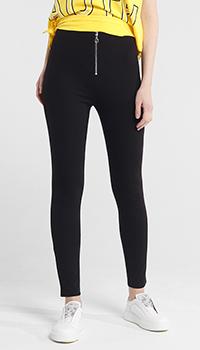 Черные брюки-скинни Liu Jo на молнии, фото