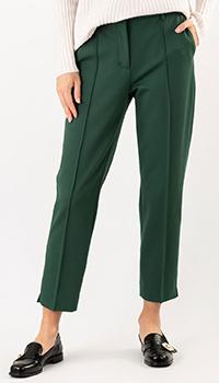 Зеленые брюки Dorothee Schumacher со стрелками, фото