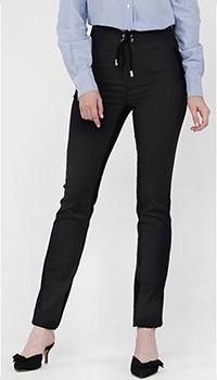 Зауженные брюки Cavalli Class черного цвета, фото