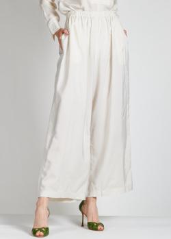 Белые кюлоты Aspesi с шелком, фото