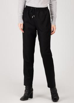 Трикотажные брюки Max&Moi черного цвета, фото