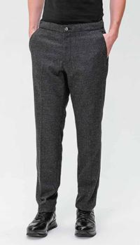 Серые брюки Bogner со стрелками, фото