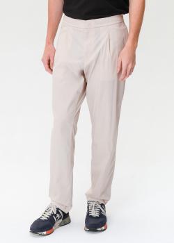 Брюки с карманами Bogner молочного цвета, фото
