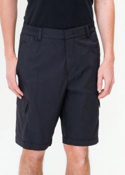 Черные шорты Bogner с накладными карманами, фото