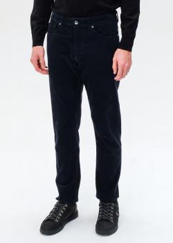 Вельветовые брюки Bogner синего цвета, фото
