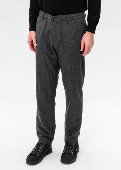 Серые брюки Bogner из смесовой шерсти, фото