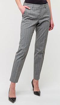 Классические брюки Bogner с принтом, фото