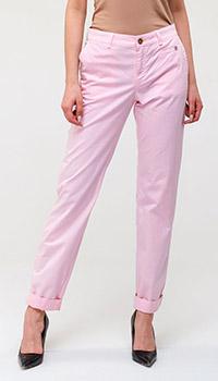 Прямые брюки Bogner розового цвета, фото