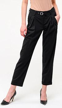 Женские прямые брюки Bogner с ремнем, фото