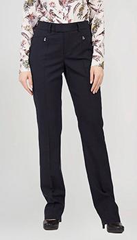 Классические брюки Bogner синего цвета, фото