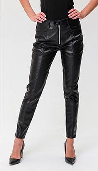 Укороченные брюки Calvin Klein из экокожи, фото