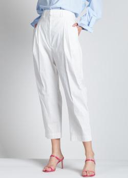 Укороченные брюки Christian Wijnants белого цвета, фото