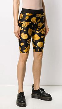 Шорты-велосипедки Versace Jeans Couture с принтом, фото