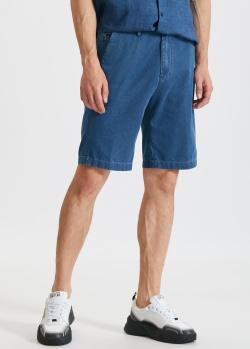 Джинсовые шорты Paul&Shark синего цвета, фото