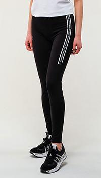 Спортивные брюки Ea7 Emporio Armani черного цвета, фото