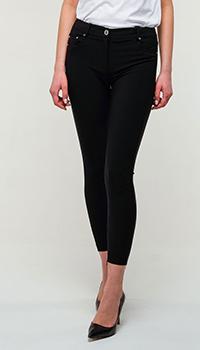 Укороченные брюки Elisabetta Franchi черного цвета, фото