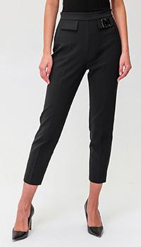 Черные брюки Elisabetta Franchi со стрелками, фото