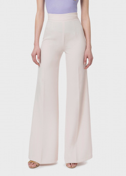 Расклешенные брюки Elisabetta Franchi с декором на заднем кармане, фото