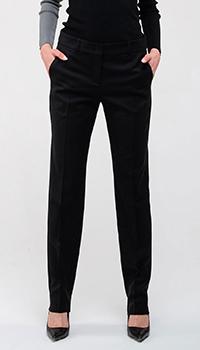 Черные брюки Emporio Armani из шерсти, фото