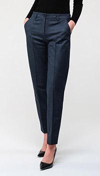 Серые брюки Emporio Armani серого цвета, фото