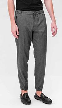 Серые брюки Emporio Armani со стрелками, фото