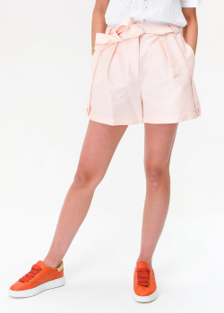 Розовые шорты Emporio Armani с поясом, фото