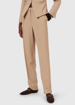 Бежевые брюки Emporio Armani со стрелками, фото