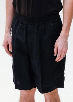 Черные шорты Emporio Armani на резинке, фото