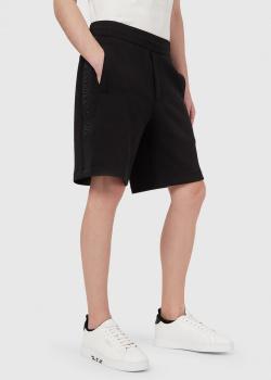 Шорты-бермуды Emporio Armani черного цвета, фото