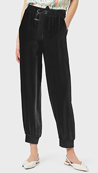 Черные брюки Emporio Armani с манжетами, фото