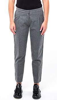 Укороченные брюки Ermanno Scervino серого цвета, фото
