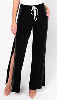 Широкие брюки Ermanno Scervino с разрезами, фото