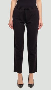 Черные брюки Ermanno Ermanno Scervino с блестками, фото