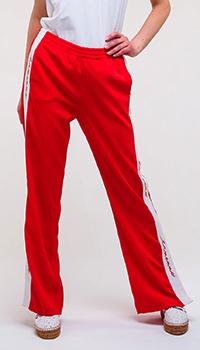 Широкие брюки Ermanno Ermanno Scervino с лампасами, фото