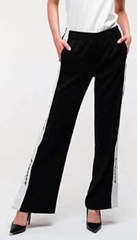 Спортивные брюки Ermanno Ermanno Scervino черного цвета, фото