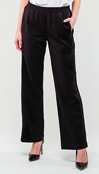 Широкие брюки Ermanno Ermanno Scervino с эластичным поясом, фото